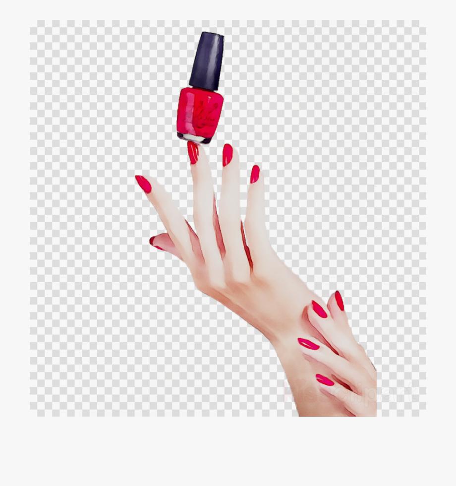 Polish hand one eye. Nails clipart cute nail