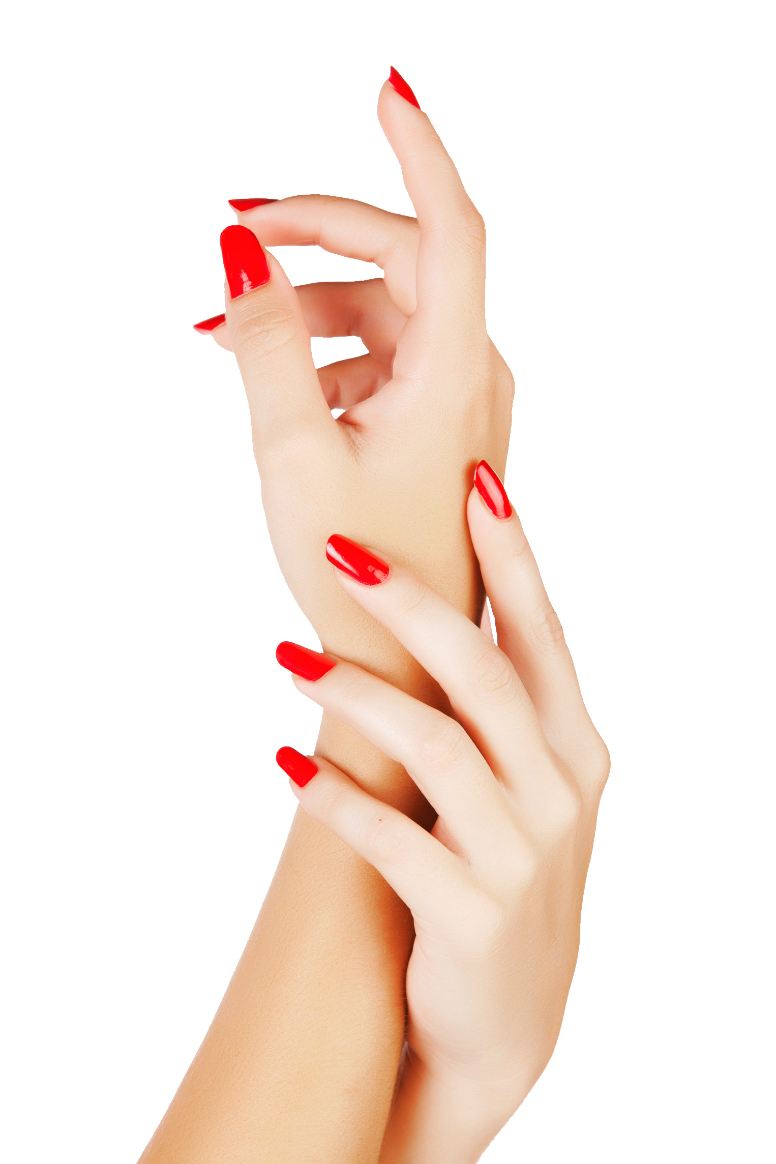 Nail clipart red nails. Color png image purepng