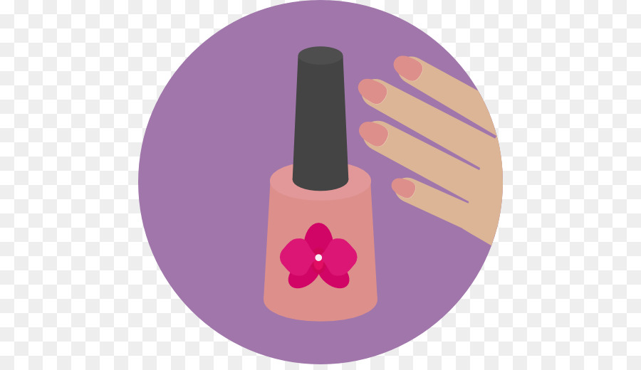 Nail pedicure . Manicure clipart icon