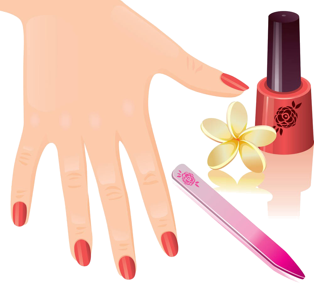 Manicure nail royalty free. Nails clipart pedicure