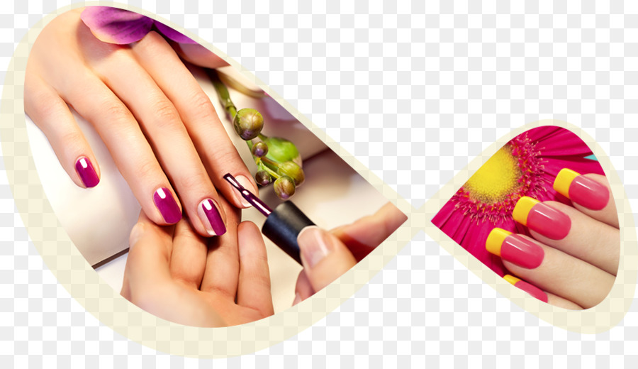 Hand cartoon manicure nail. Nails clipart pedicure