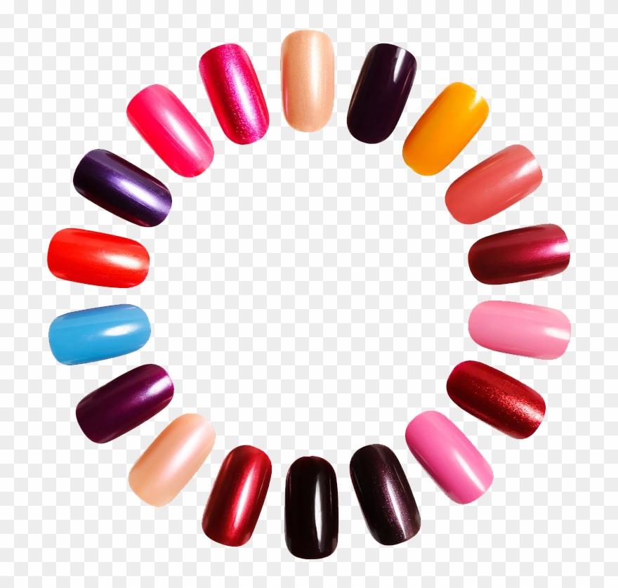 Kisspng art polish salon. Nails clipart fake nail