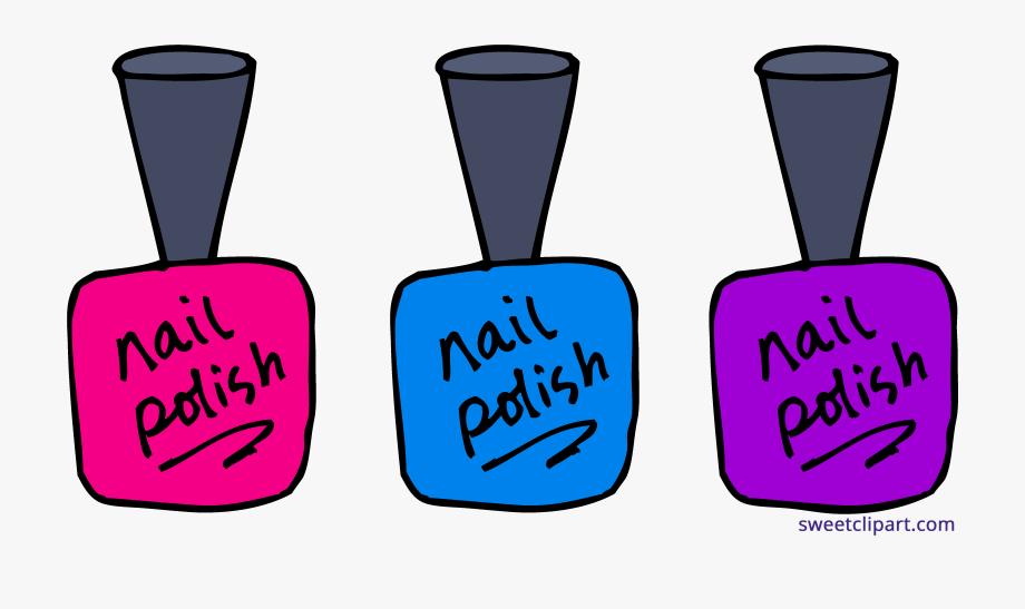 Clip art sweet polish. Nails clipart polished nail