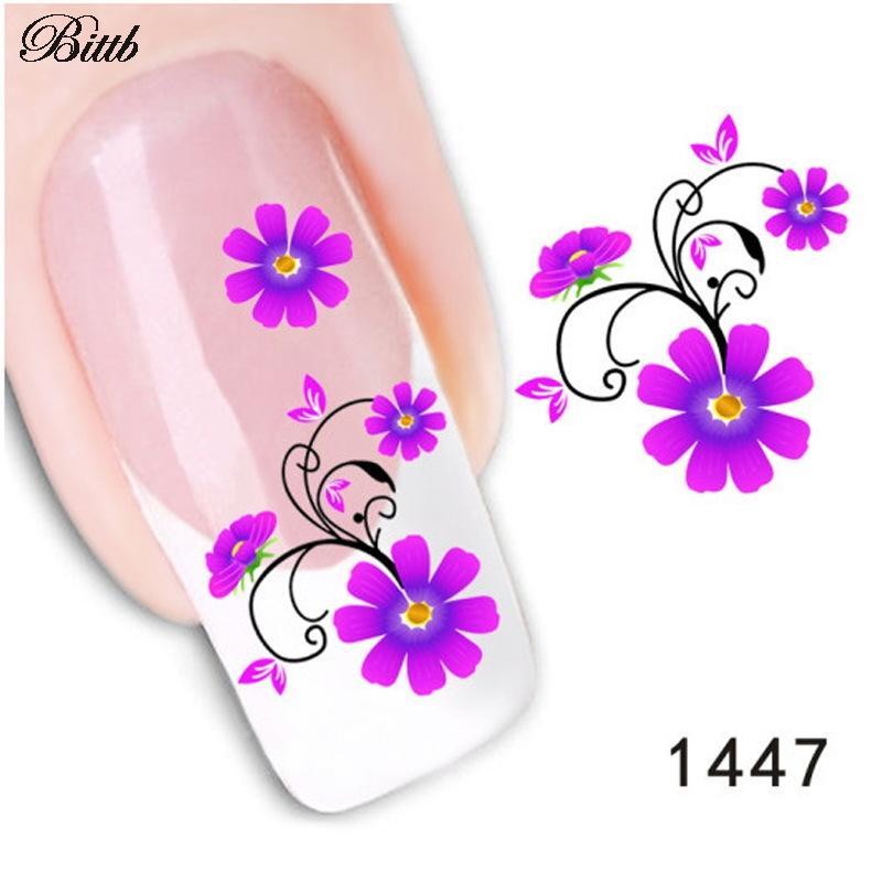 Bittb diy decals petal. Manicure clipart pretty nail