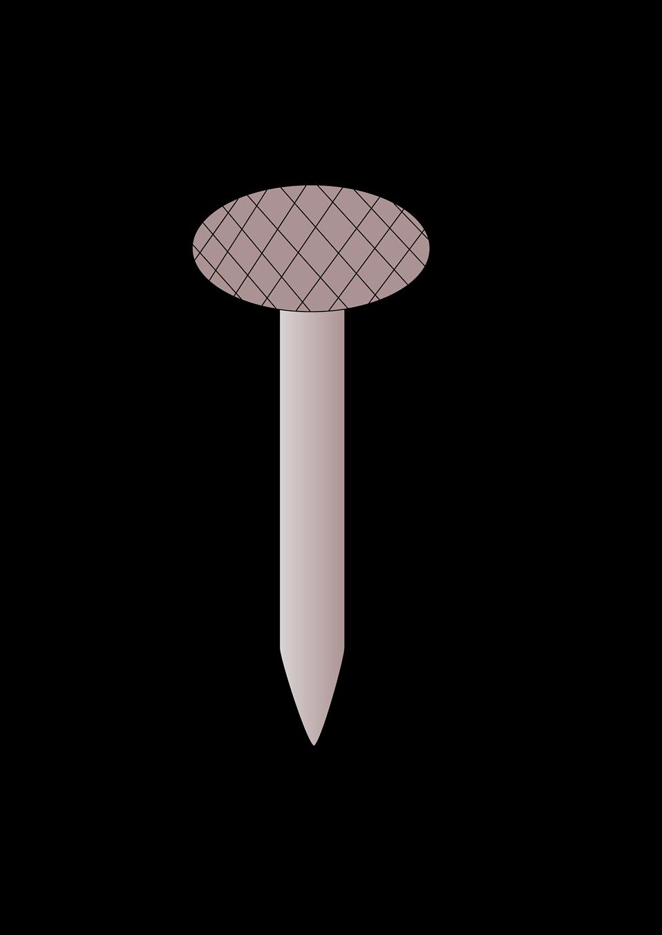 Free stock photo illustration. Nails clipart nail screw