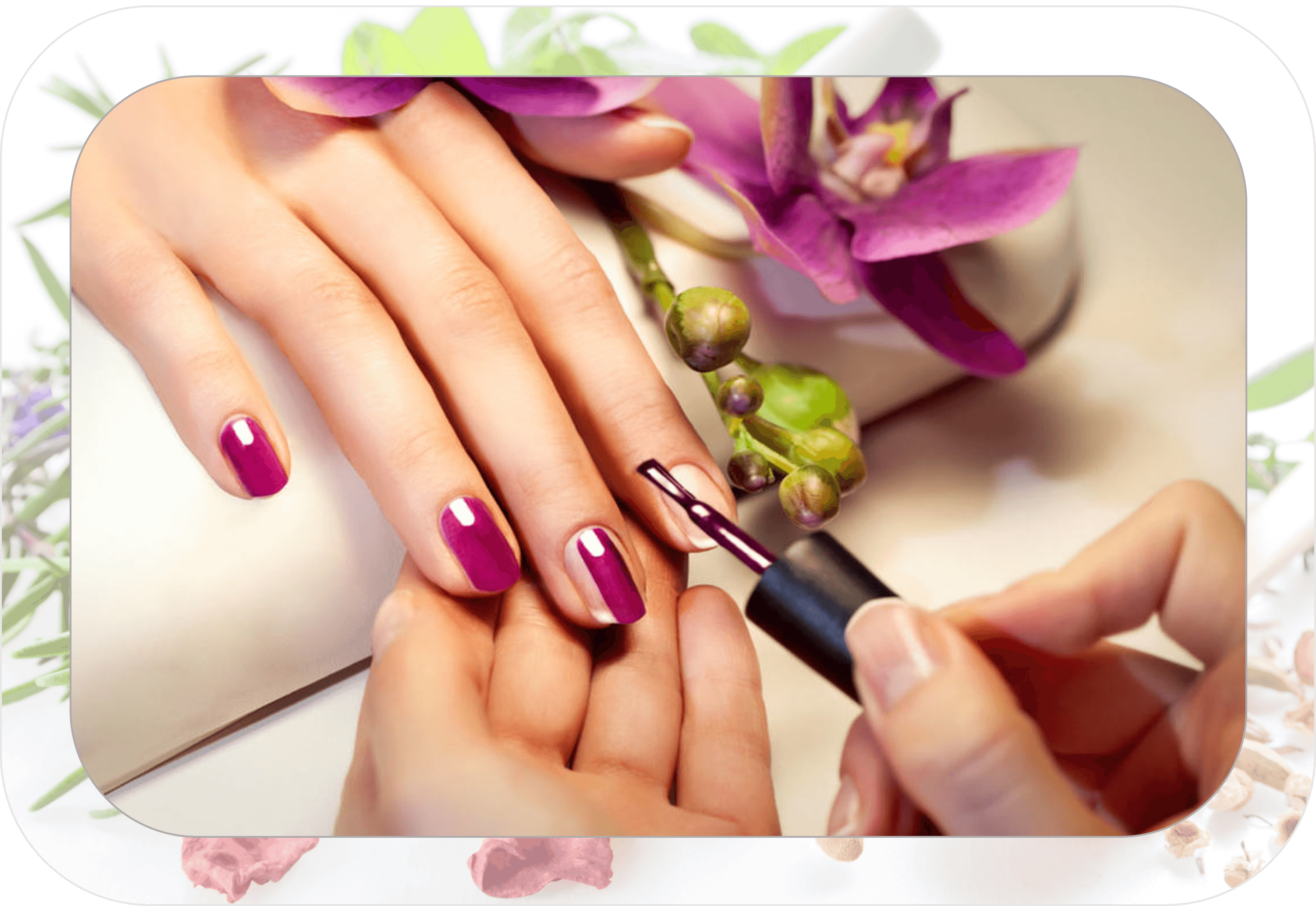 Gel soak off nail. Nails clipart french manicure