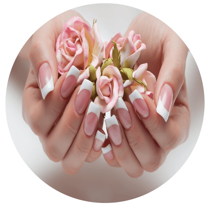 Nails clipart fake nail. Spa manicure salon acrylic