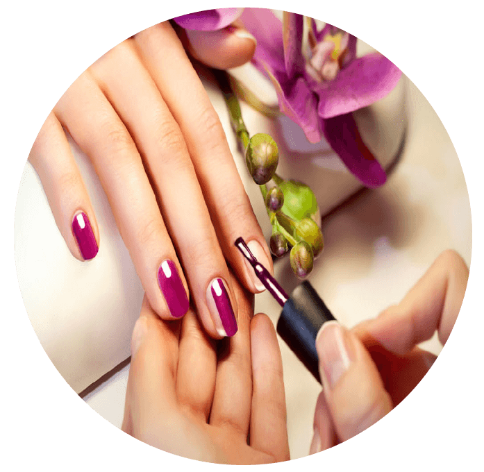 Skin clipart manicured hand. Spa pedicure nail salon
