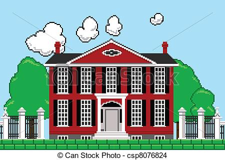 . Mansion clipart