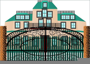Free images at clker. Mansion clipart