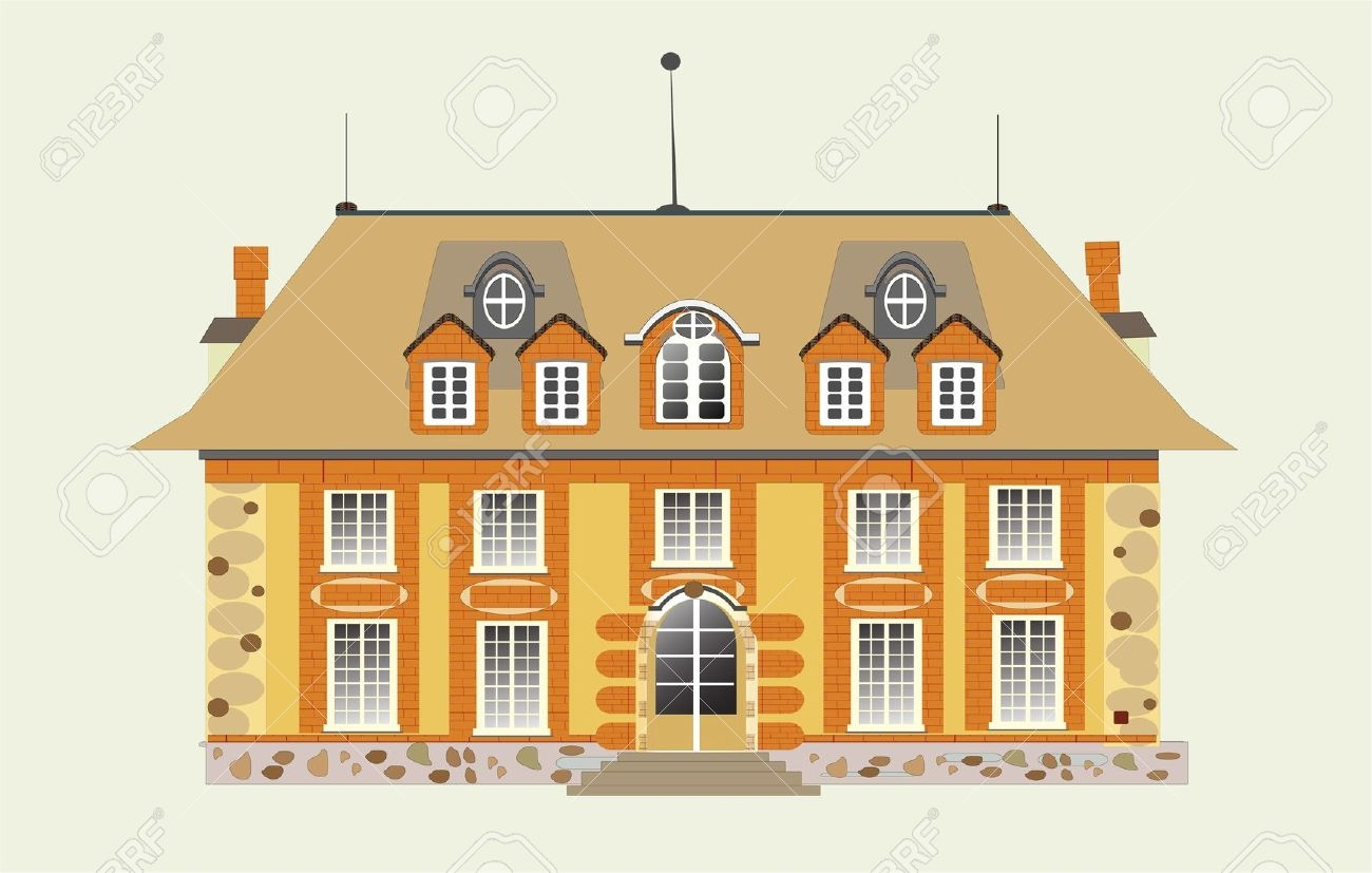 Mansion clipart. Best of design digital