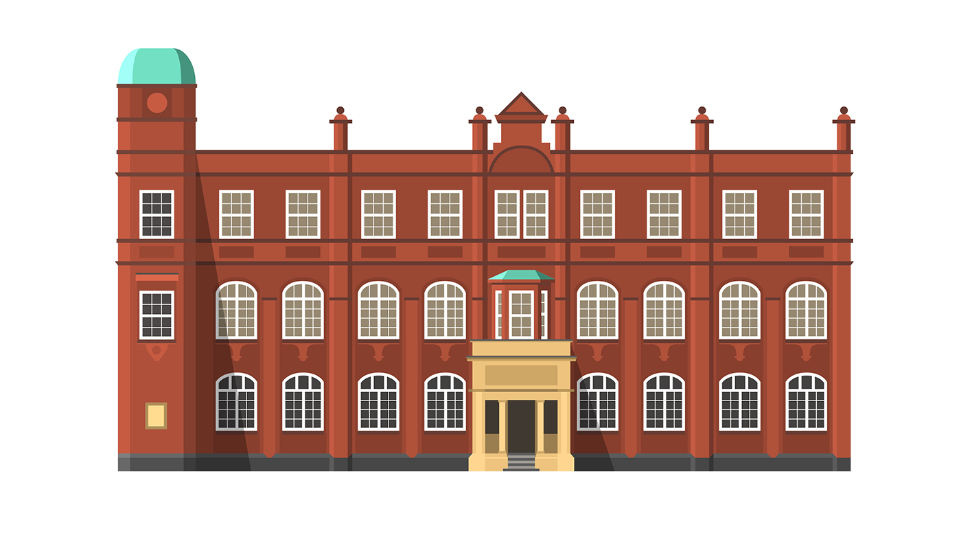 Norwich university of the. Mansion clipart house gate