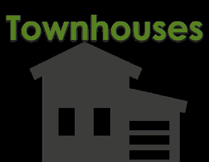 Neighborhood clipart housing estate. Meeting house estates condos