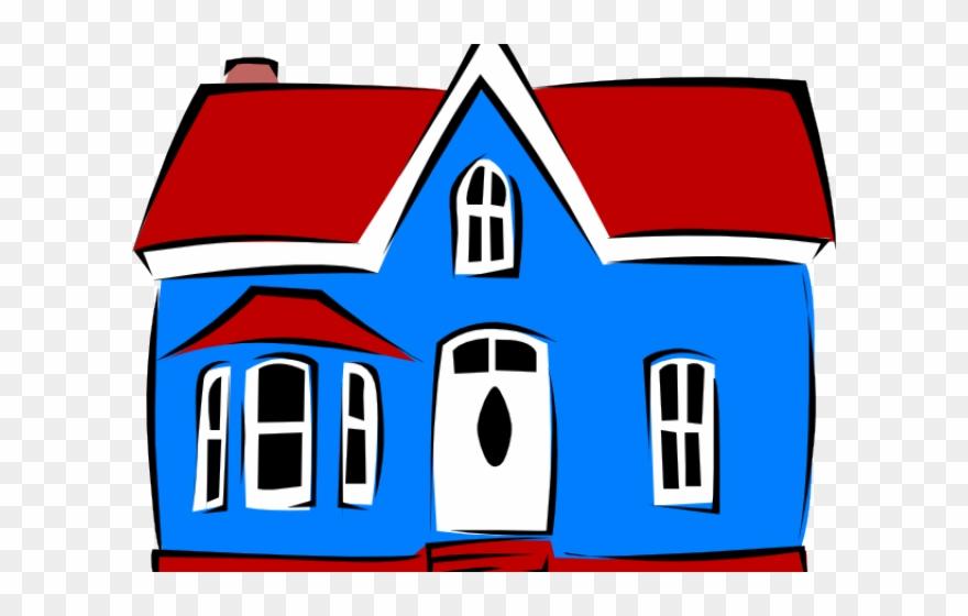 Municipality drawing of pakka. Mansion clipart village house