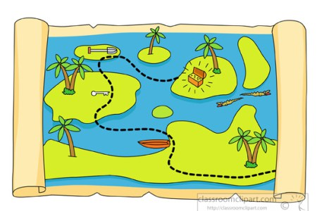 Map clipart. Trere