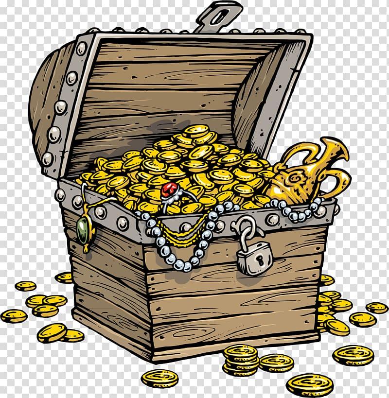 Treasure clipart pirate treasure. Buried map piracy chest