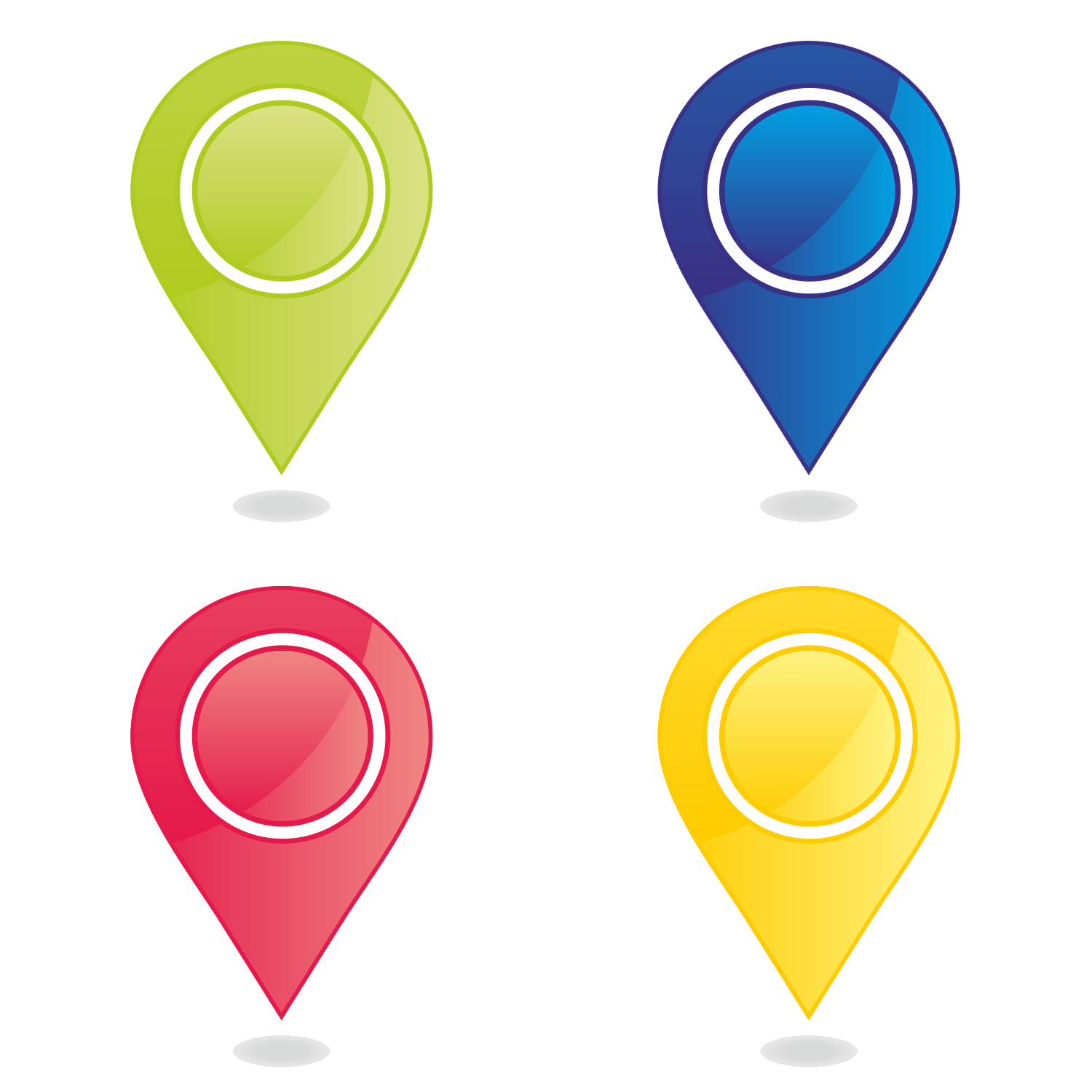 Map marker png images. Markers clipart transparent background