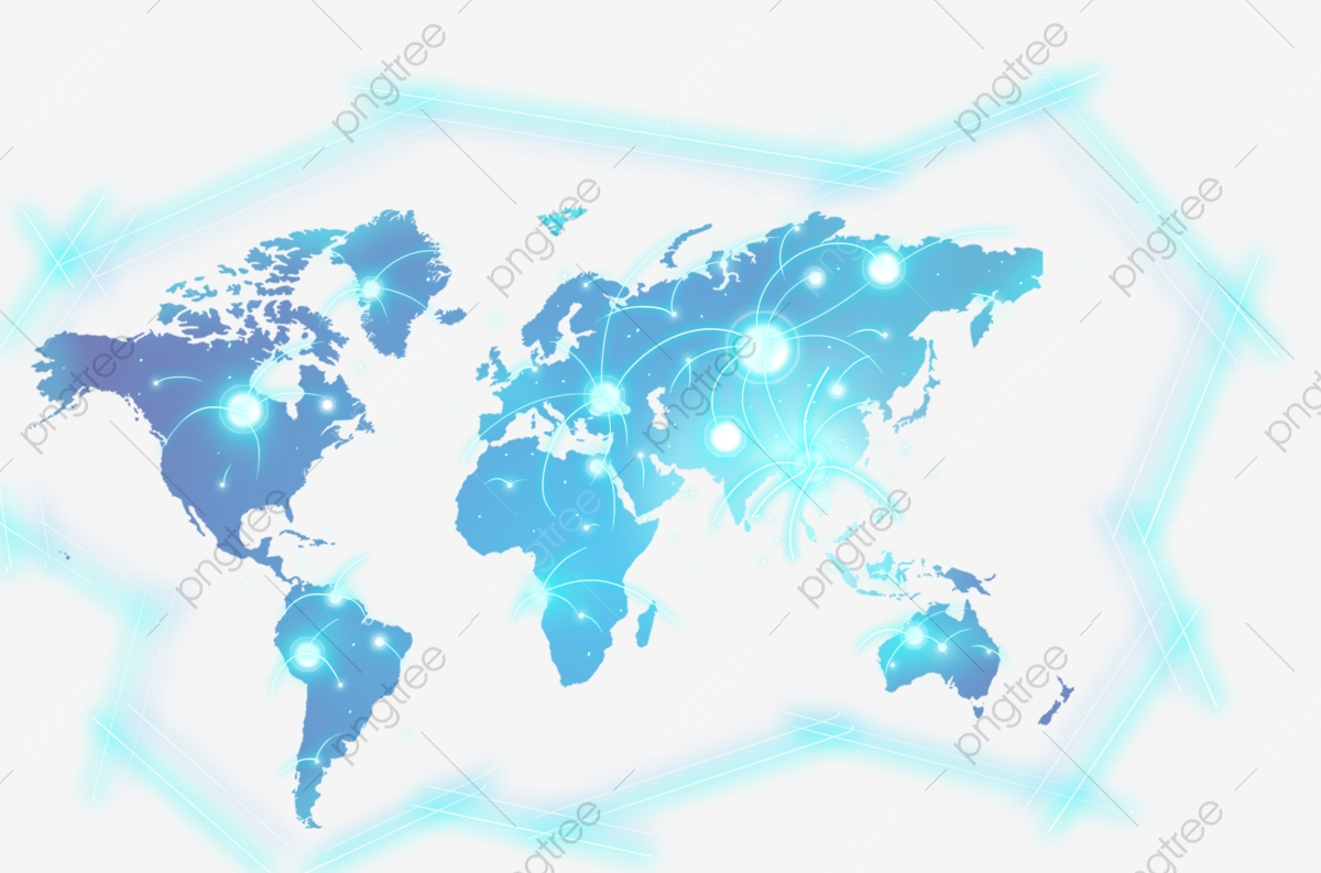 Map clipart world map. Color lattice