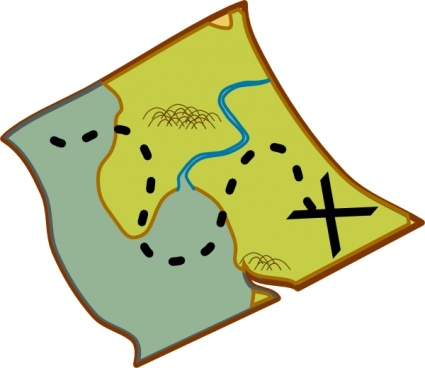 Clip art images free. Map clipart