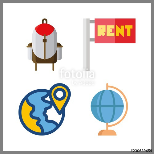 Maps clipart map work. Icon and flags earth