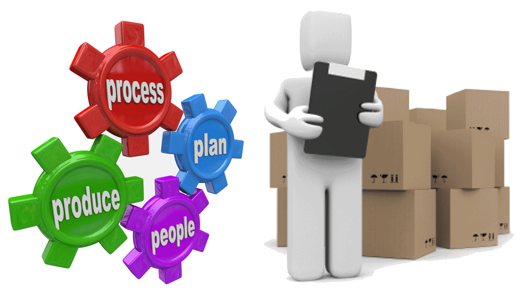 Supply planning self assessment. Organization clipart production
