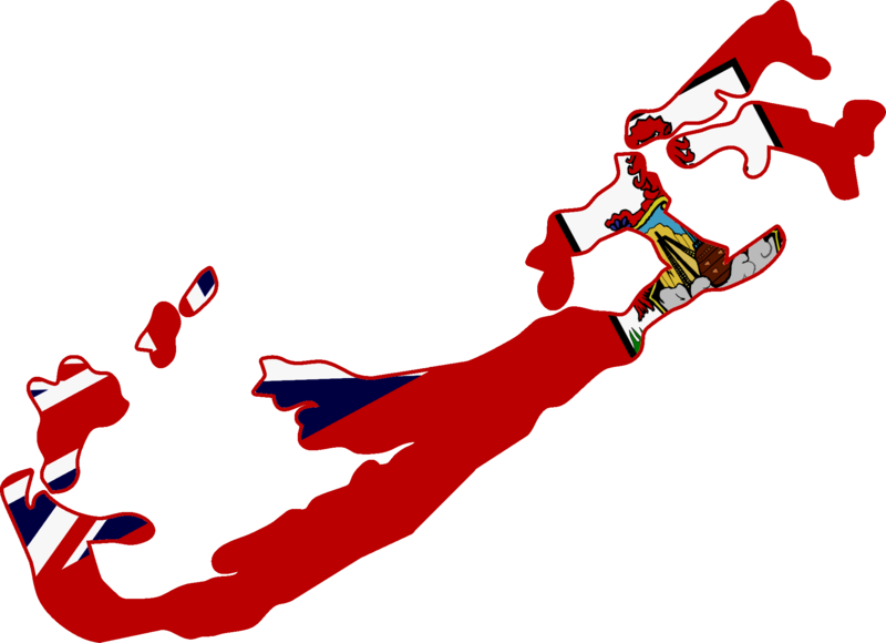 File map of bermuda. Missions clipart international flag
