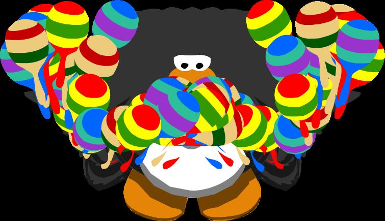Maracas clipart club penguin. Wiki chat logs november