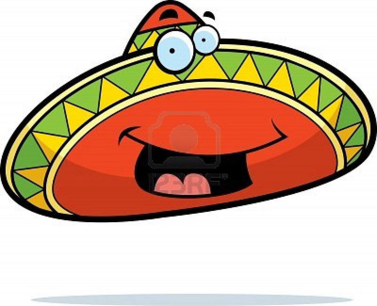 Maracas clipart mexican food. Free sombrero and download