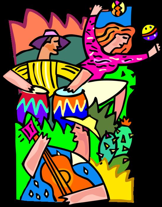 maracas clipart summer
