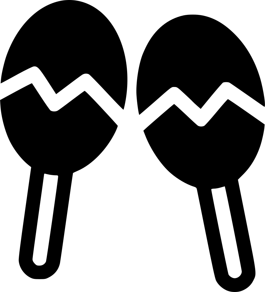 Svg png icon free. May clipart maracas