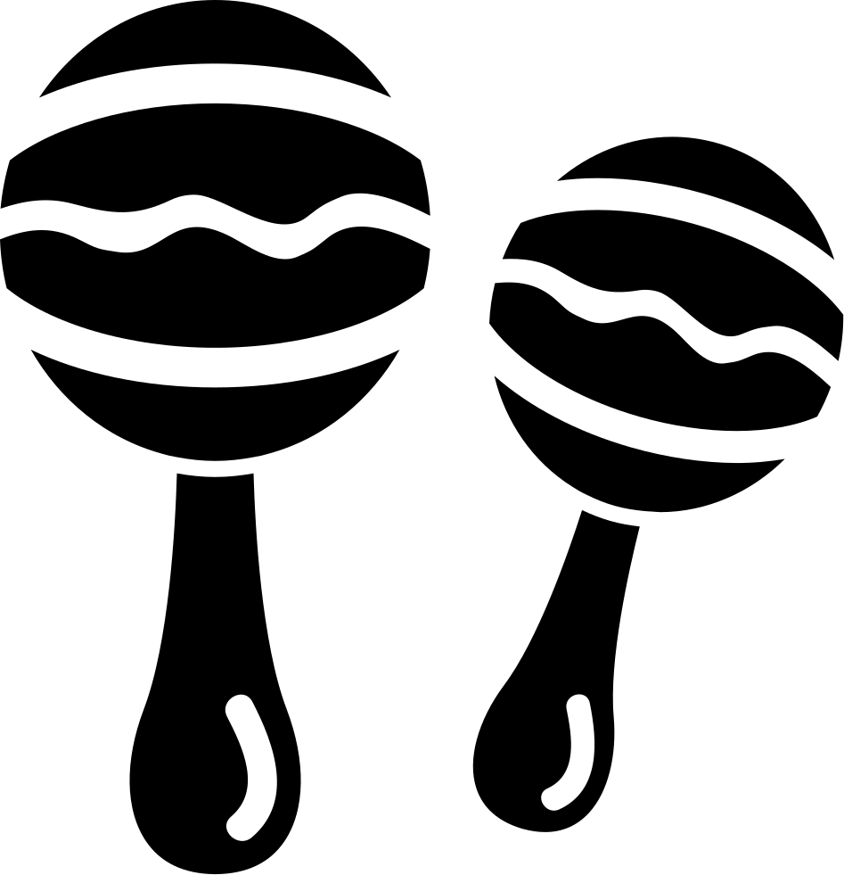 Png icon free download. Maracas clipart svg
