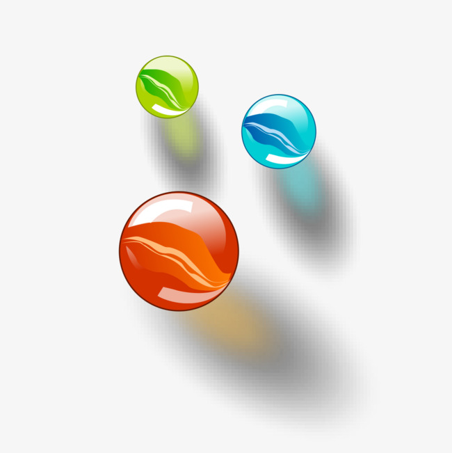 Color graphics pinball png. Marbles clipart