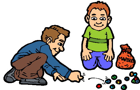 Playing clip art picgifs. Marbles clipart