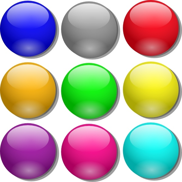 Game Marbles clip art Free vector in Open office drawing svg