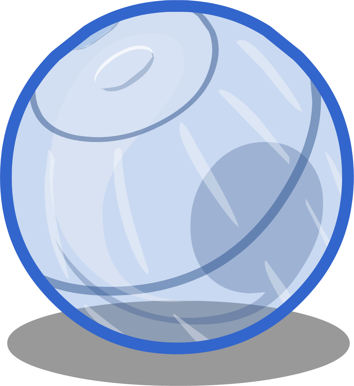Puffle club penguin wiki. Marbles clipart 9 ball