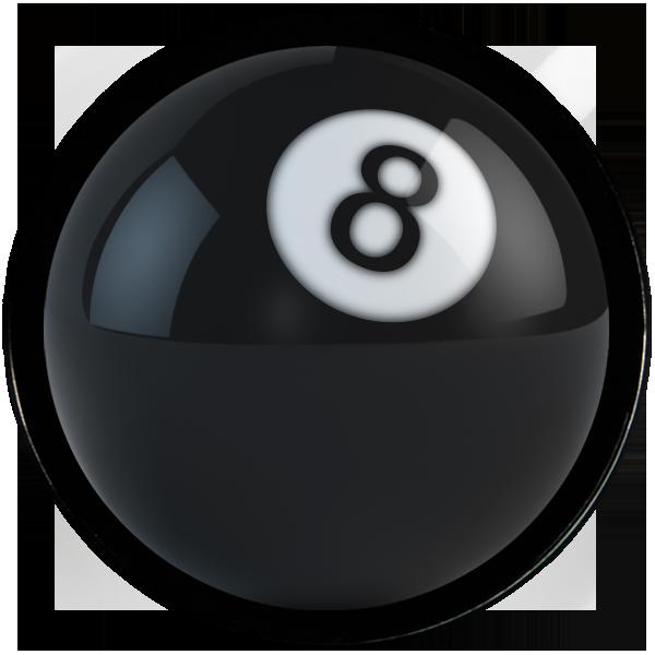 Marbles clipart 9 ball. Flek