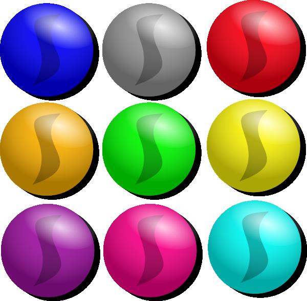 Game dots clip art. Marbles clipart cartoon