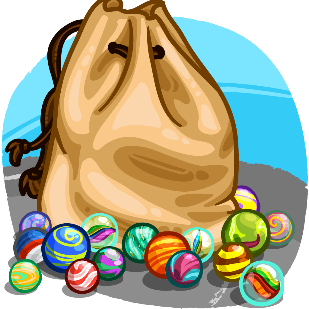Marbles clipart cartoon