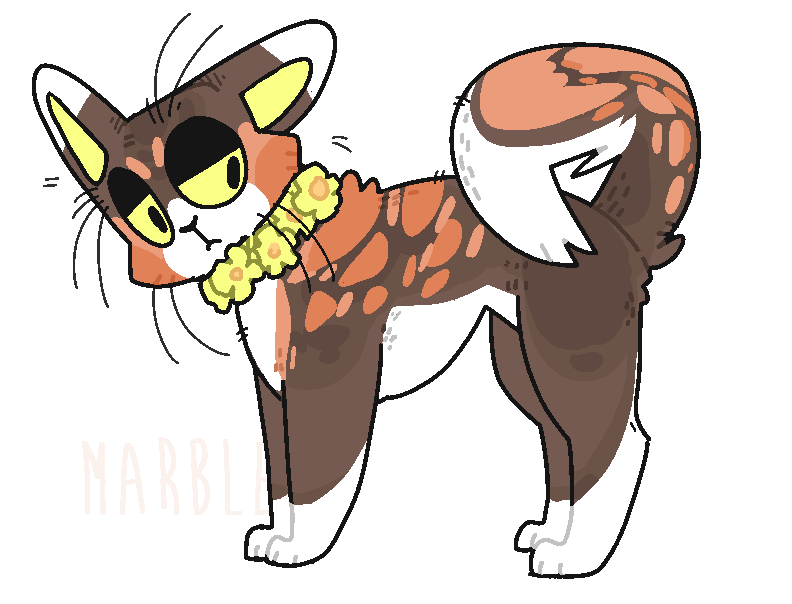 Marbles clipart cat eye. Buzzardsong warrior cats character
