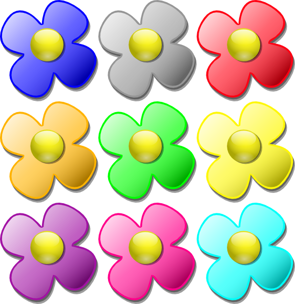 Game flowers at clker. Marbles clipart clip art