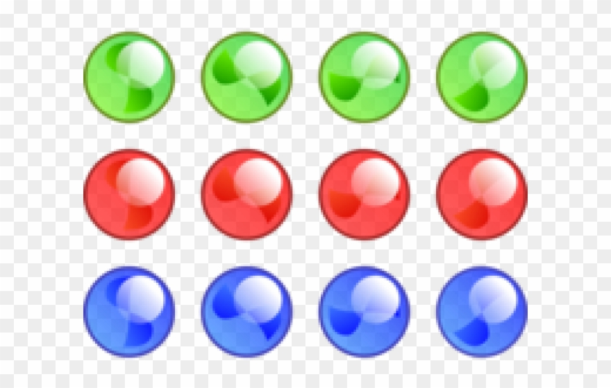 Circle png download . Marbles clipart five
