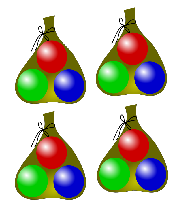 Marbles clipart four. Multiplication eanswers bags with