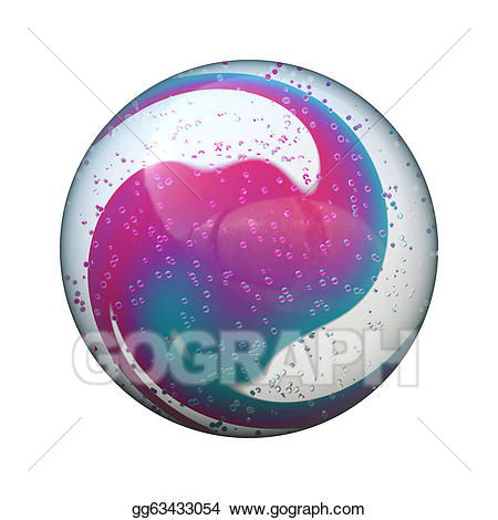 Marble ball stock illustration. Marbles clipart marbel