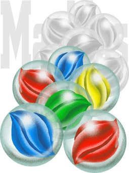 Marble free clip art. Marbles clipart marbel