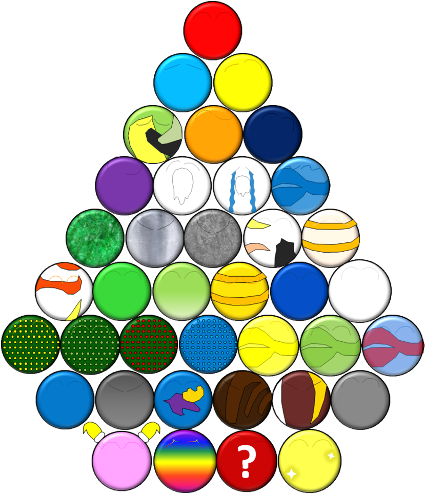 Marbles clipart marble game. The characters by maxiandrew
