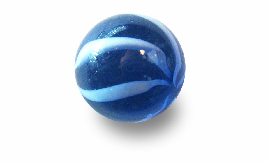 Marbles clipart marble game. Glass blue png image
