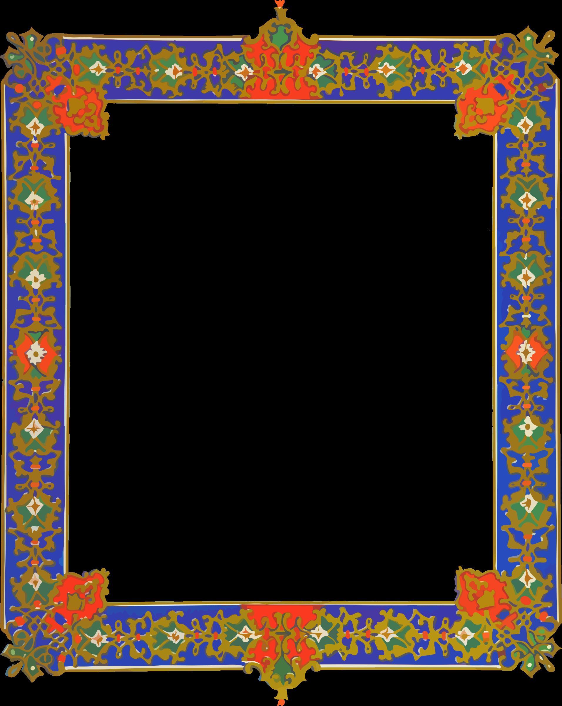 Marbles clipart name. Ornate frame big image