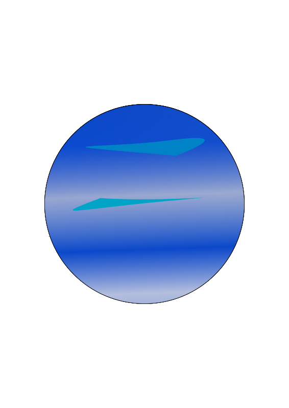 Planet giftsforsubs planeta neptuno. Marbles clipart neptune
