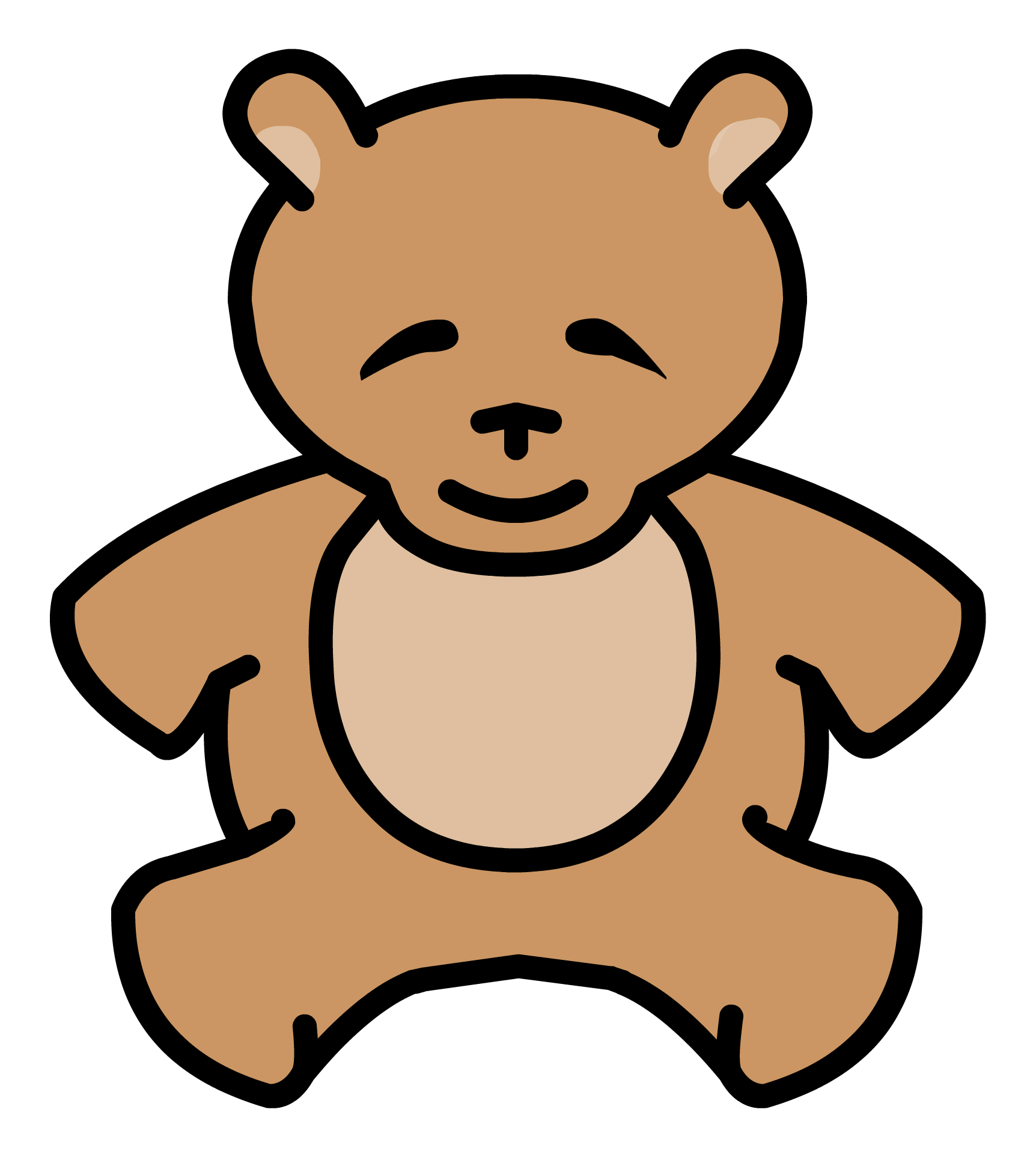 Marbles clipart rare. Image teddy bear pin