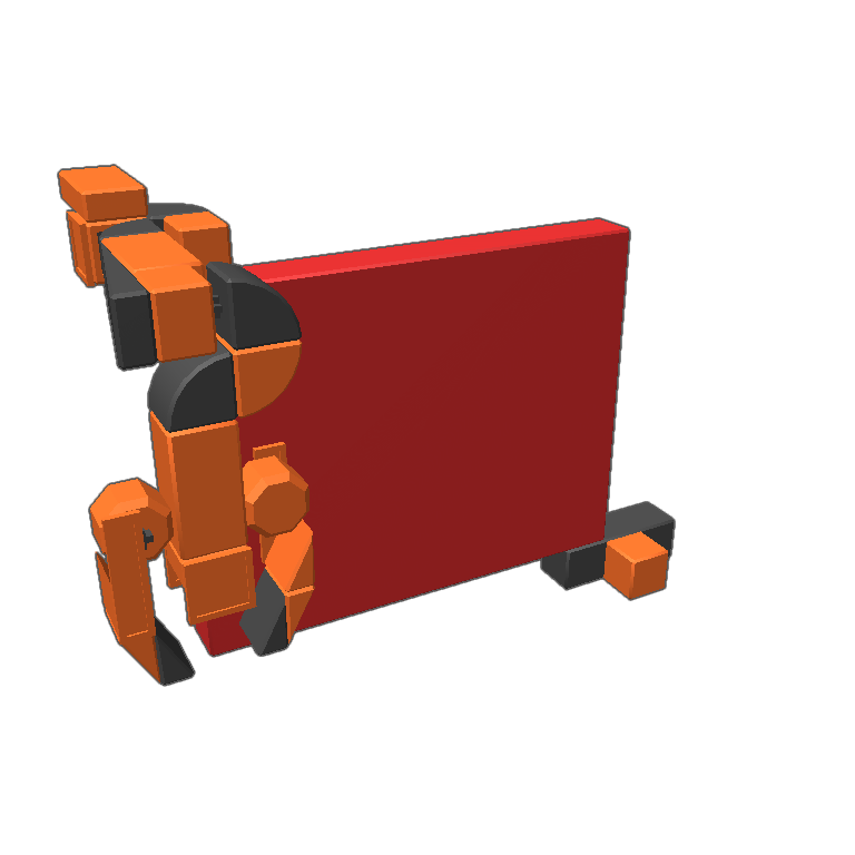 Marbles clipart red marble. Blocksworld this robotic arm